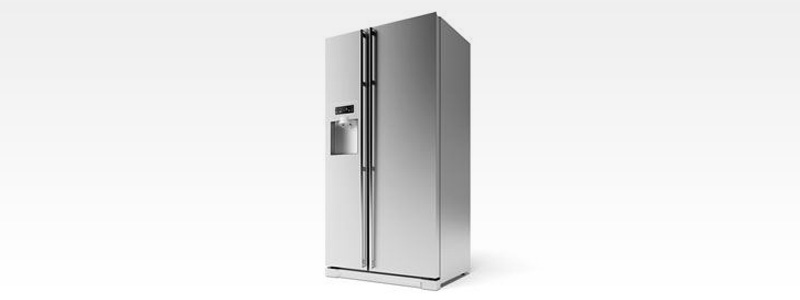 Stainless Steel fridge with water dispenser