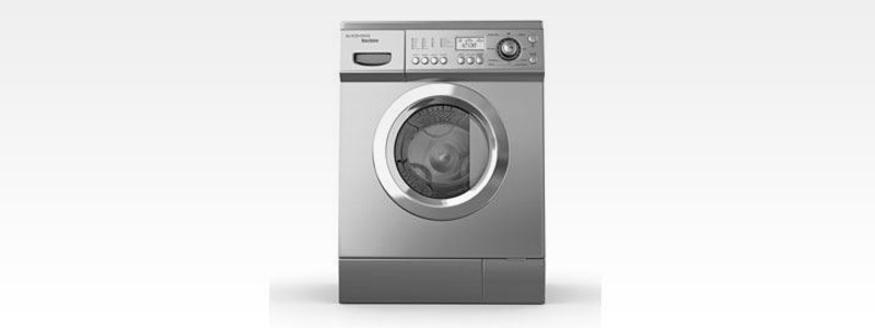 A new front loaded washing machine or dryer